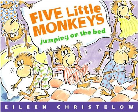 five little monkeys jumping on the bed book five little monkeys jumping on the bed big book by eileen