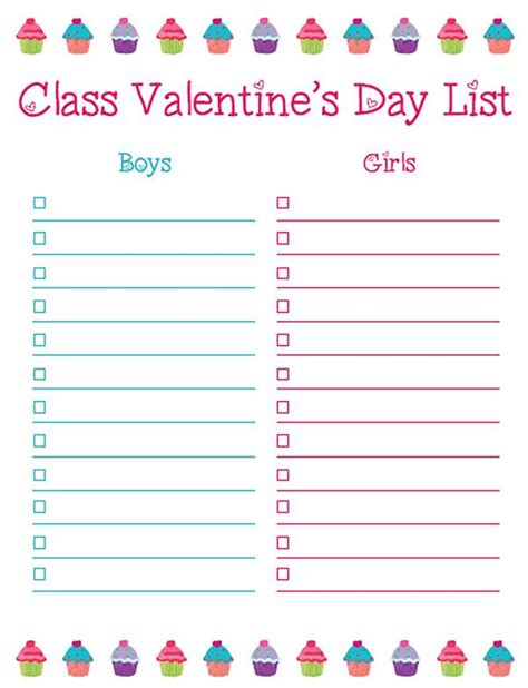 s day soundtrack list s note free s day class list printable