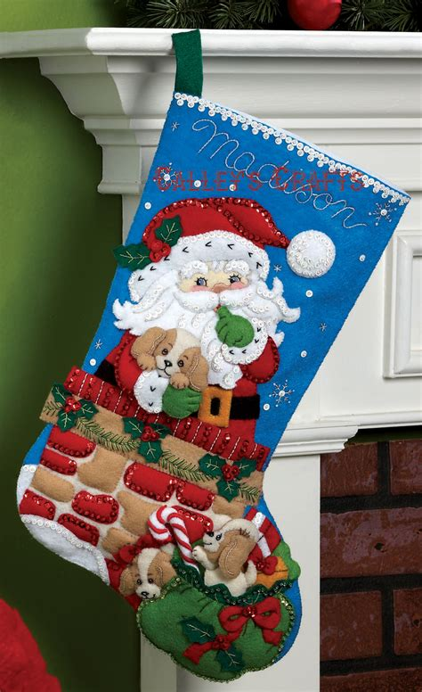 bucilla christmas stocking kit