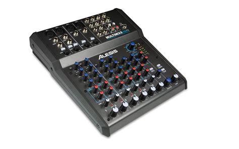 Audio Mixer Monitor Audio Em8 8channel alesis multimix 8 usb fx
