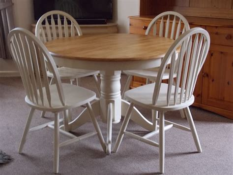 incredible shabby chic round kitchen table also dining tables trends images creative extending