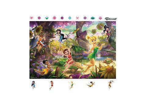 fathead wall murals disney fairies mural wall decal shop fathead 174 for disney