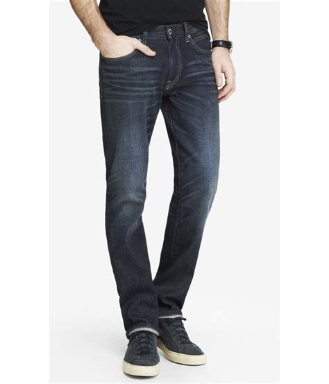 Celana Panjang Express Classic Fit Kingston Leg express wash kingston classic fit leg jean in blue for lyst