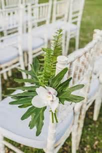 Ferns And Petals Wedding Decorations 29 Tropical Wedding Aisle D 233 Cor Ideas To Try Weddingomania