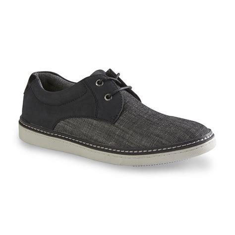 mens non slip black shoes sears