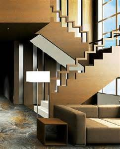Home Interior Stairs staircase decor modern wooden interior stair railing