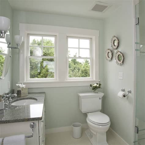 Small Bathroom Color by Best Paint Colors For Small Bathrooms August Morning With