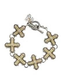 Home Decor Consignment by Konstantino Cross Bracelet Jewelry Kon10003 The Realreal
