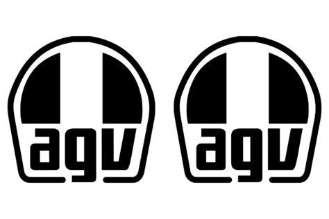 agv logo stickerschoose  color yourselfand select