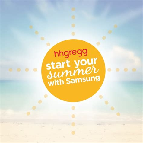 Hhgregg Giveaway - celebrate dad this summer with samsung hhgregg giveaway