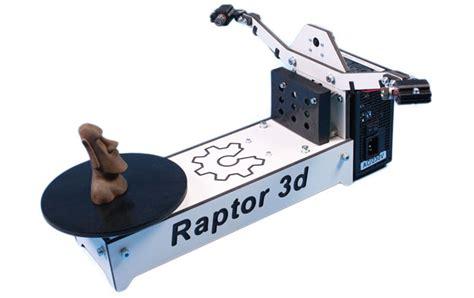 3d scanner with raptor 3d scanner complete diy kit reprap 3d printing