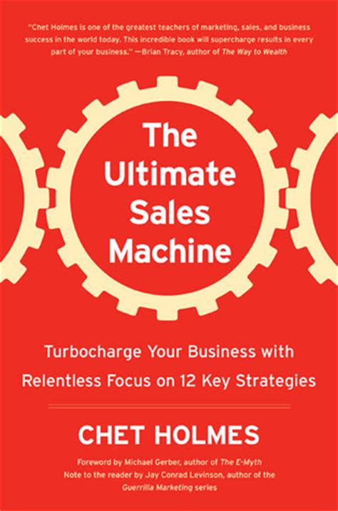 a relentless books ultimate sales machine by chet reviews