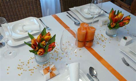 tischdeko orange mustertische fr 252 hling fr 252 hlingsdeko und tischdekoration