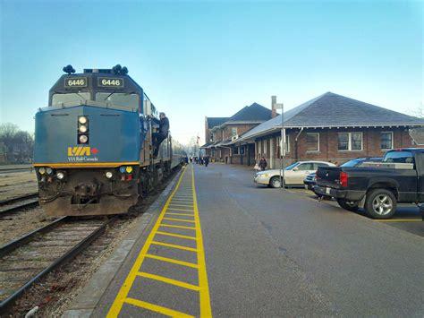 Via Rail Kitchener via rail improves connections to kitchener stratford and