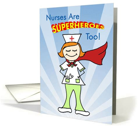 nurses  superheroes  card