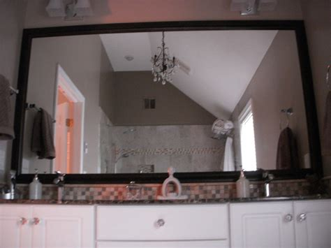 Framed Vanity Mirror Framed Mirrors For Bathroom Vanities