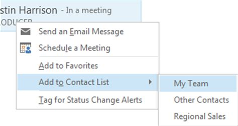 Oregon State Microsoft Office by Lync Adding Contacts Computer Help Documents Oregon