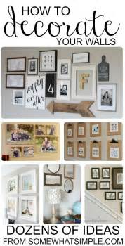 Last week s link party had this lovely living room gallery wall from