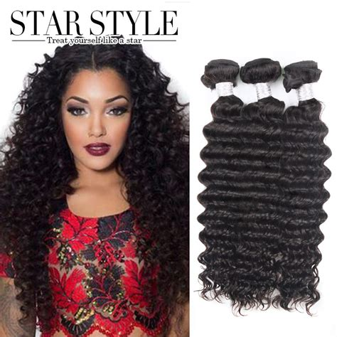 virgin human hair latest hairstyle kenya 3pcs lot 7a brazilian virgin hair deep wave star style