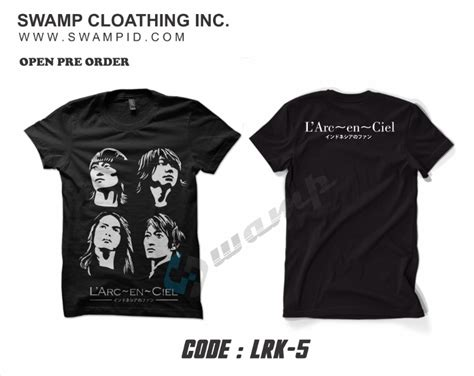 Kaos Larc En Ciel Tshirt 2 muhrokib net desember 2013
