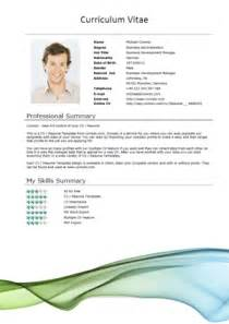 standard cv template word 50 free microsoft word resume templates for