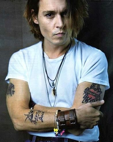 tattoo johnny johnny depp quotes about tattoos quotesgram