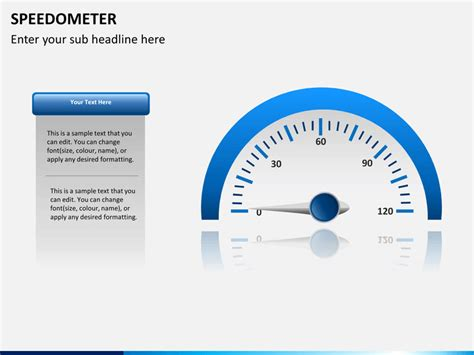 speedometer powerpoint template sketchbubble