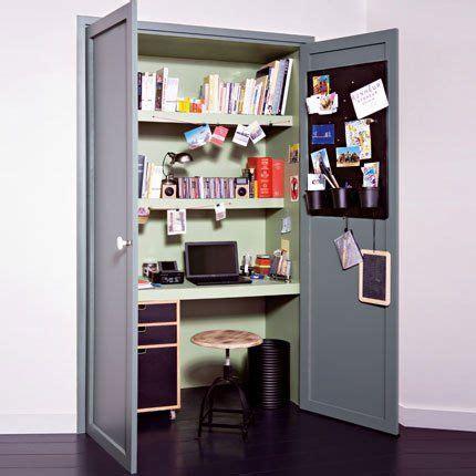 bureau dans placard on range la chambre des enfants wedd in design