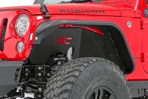 Mopar Saprepart Oem Jeep Jk Wrangler Rubicon Throttle 3 8l front rear inner fender liners for 2007 2017 jeep wrangler jks country suspension systems 174