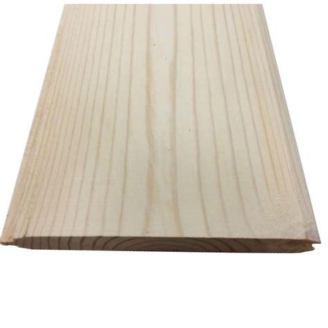 2 in x 8 in x 12 ft log cabin siding board 2812spflcs