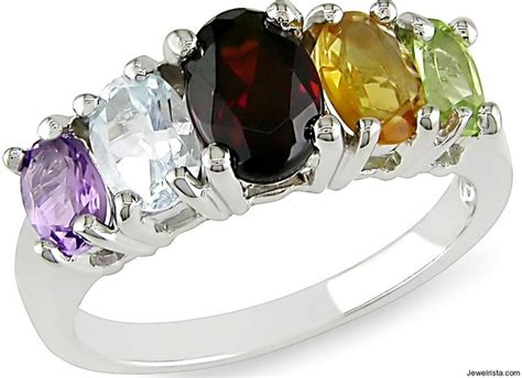 gemstone ring and settings