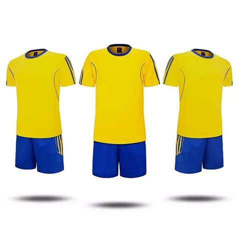 2016 boys football jerseys clothing set 2pcs for