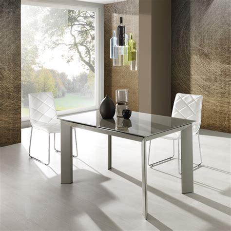 tavolo soggiorno vetro tavolo da soggiorno allungabile in metallo tortora con