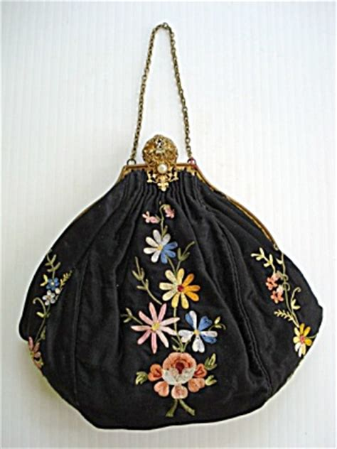 Fantique Bag antique embroidered purse i it my styles
