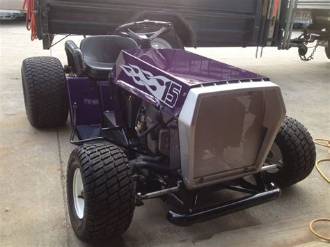 built  rover rancher racing lawn mower   pieroed   mounths  runining   twin