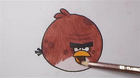angry on a how to draw terence angry birds