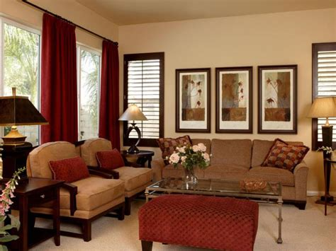 brown and red living room ideas tips to create affordable home decor 4 home decor