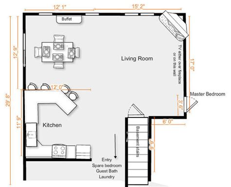 condo layout need help for furniture layout in condo living room