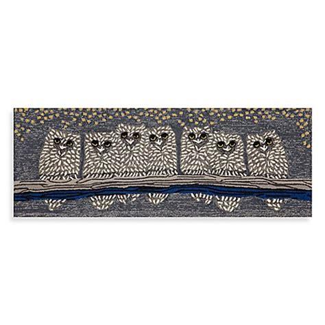 72 Inch Doormat trans 27 inch x 72 inch front porch owls door mat