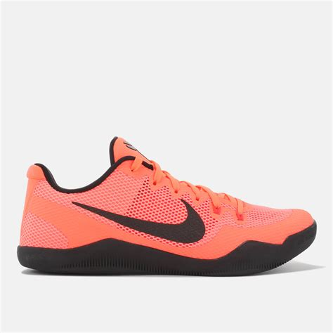 basketball shoes shop orange nike xi basketball shoe for mens by nike