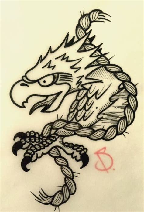 mauvais genre tattoo 1000 id 233 es sur le th 232 me traditional eagle tattoo sur