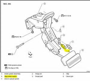 2006 nissan pathfinder brake lights park from time bypass shifter