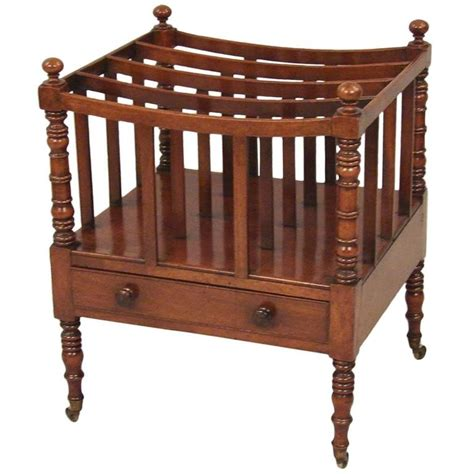 sections for sale canterbury regency mahogany four section canterbury with drawer for
