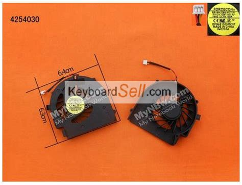Fan Laptop Dell N4030 dell inspiron m4040 14vr n4050 vostro 1440 1450 cpu cooling fan laptoppartplaza the