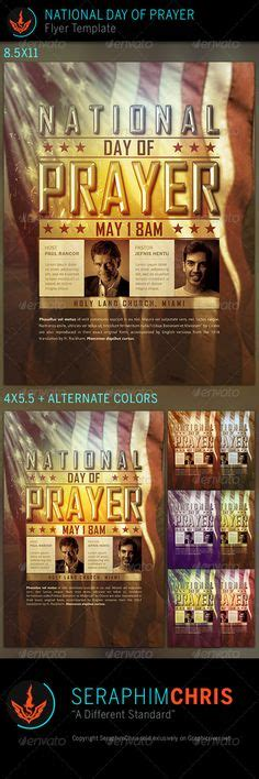 Pastor S Anniversary Program Covers Bulletins For All Denominations Programs Projects Prayer Flyer Template