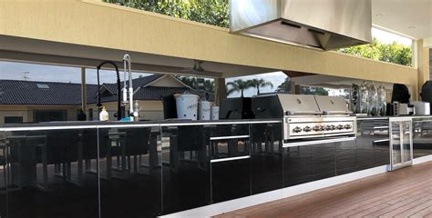 custom designed outdoor kitchens alfresco australia