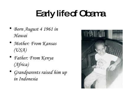 biography of barack obama ppt ppt barack obama ict