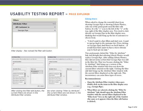 usability test report template communicating user research findings uxmatters