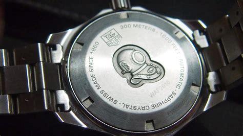 Harga Jam Tangan Tag Heuer Aquaracer Original sold tag heuer aquaracer automatic calibre 5 quot wap2010
