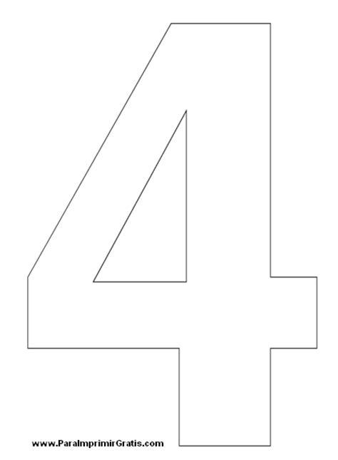 plantillas de numeros para imprimir image gallery numeros grandes